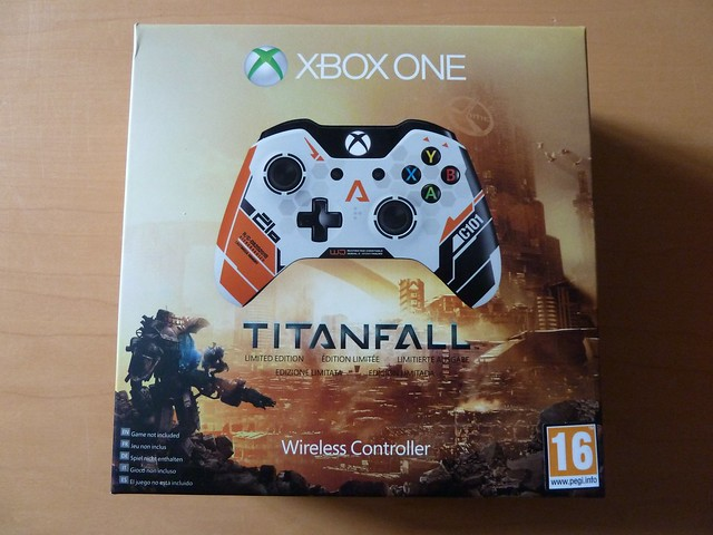 Microsoft Xbox One Limited Edition Titanfall Wireless Controller