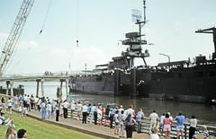 BB-35 Returns to San Jacinto, July 26, 1990 r