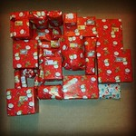 First Batch of Christmas Presents Wrapped :-)