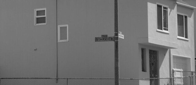 Starview Rd at Pantorama, near Sutro Tower.  San Francisco (2014)