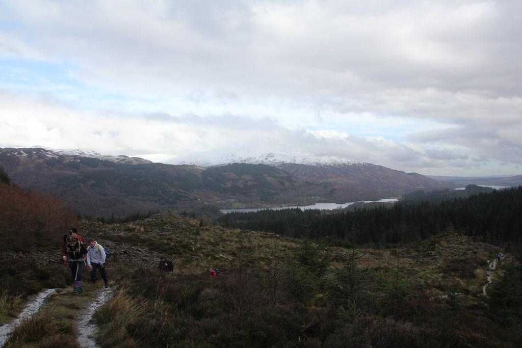 The Trossachs, Achray Water, Gleann Riabhach, Ben Venue