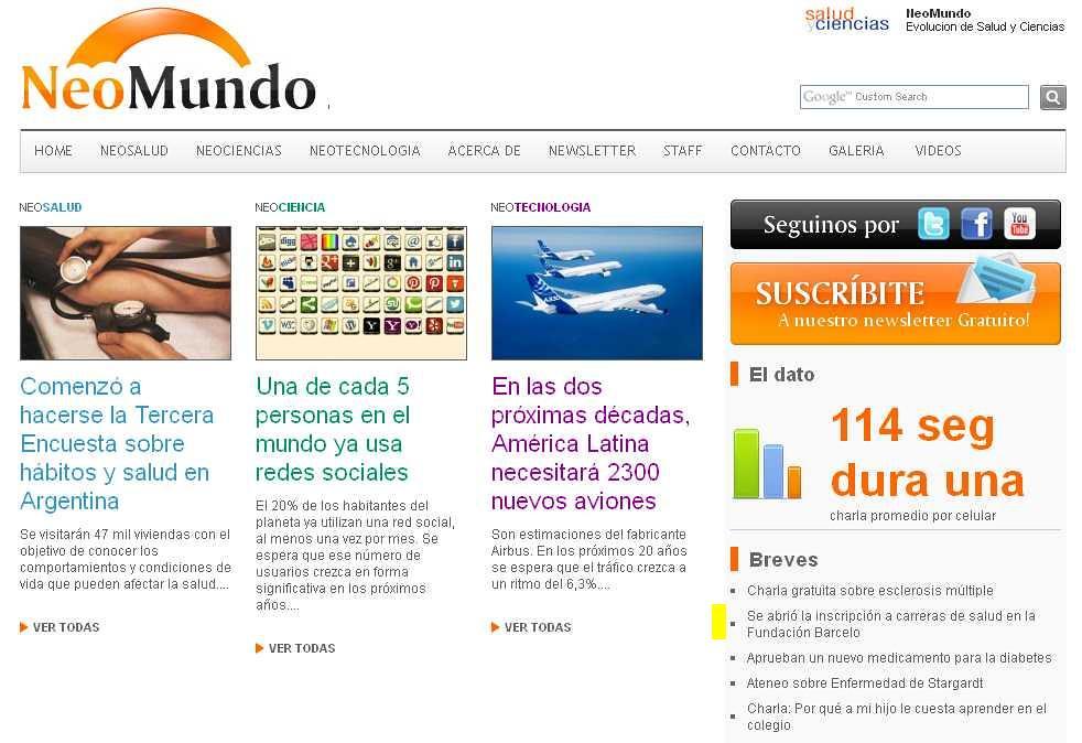 Site Neo Mundo (home) 21-11-13