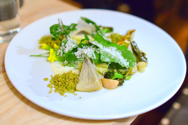 BRASSICA ROASTED GARLIC, LEMON, PARMESAN