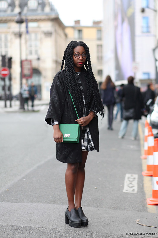Ina at Paris fashion week PFW