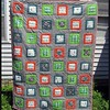 Finished #lumberjackattack quilt using fat quarters from @joyfulroots! Details at storiedyarns.blogspot.com