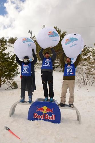 Podium Red Bull Home Run Valdesquí