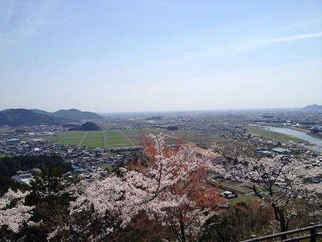 城山 展望台からの眺望