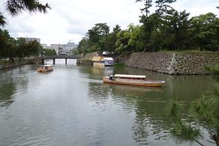 松江城・外堀(1)