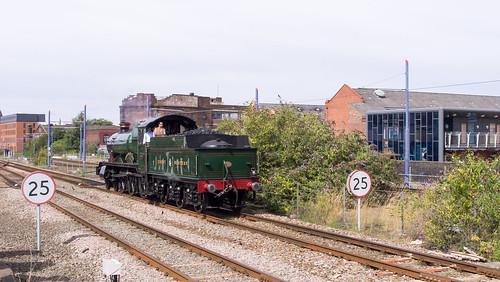 4965 Rood Ashton Hall runs round The Shakespeare Express at Birmingham Snow Hill