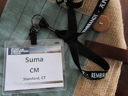 Nametag - 3rd Annual Plein Air Convention & Expo (PACE14), Monterey, California