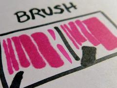Linien mit dem Brush-Marker