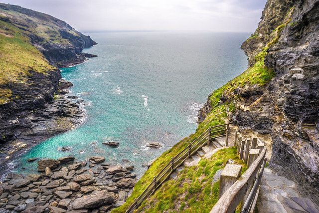 Tintagel Castle, Cornwall, United Kingdom