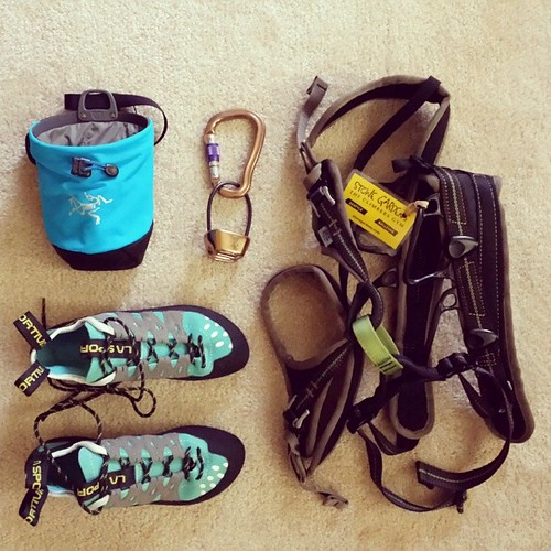 124/365 - Geared-Up for Climbing #project365