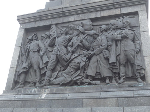 Victory Square monument detail