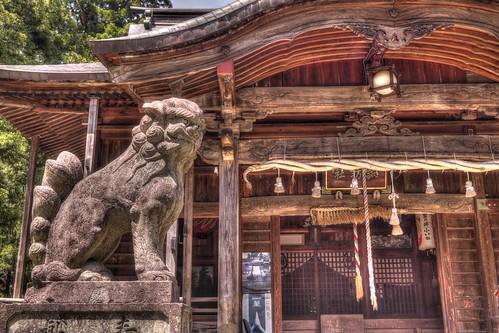 Suwa jinja in Yuzawa