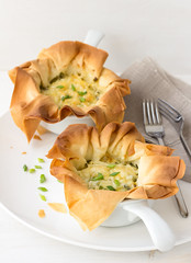 Onion mini tarts_