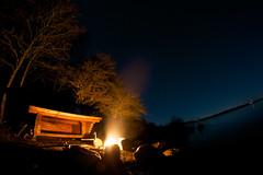 Fire in the lake - Roskilde - Danmark