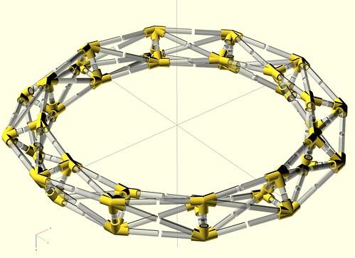 Two-turn torus wireframe