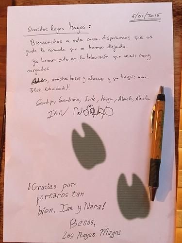 Kings Day 2015 Letter