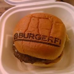 Trying somewhere new. #whatsfordinner #yum #burgerfi