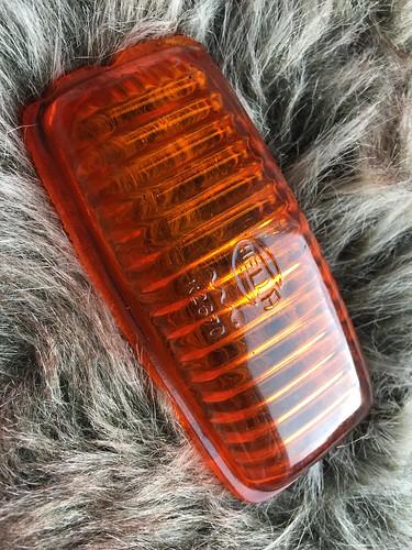 Hella K2670 remlicht glaasje gebruikt