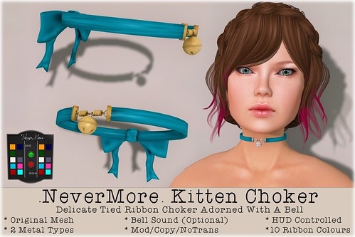 .NeverMore. Kitten Choker