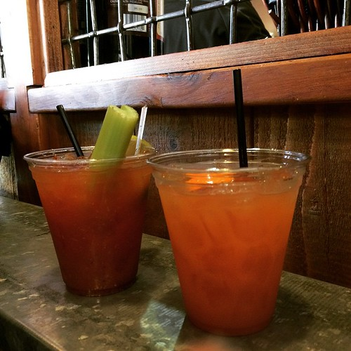 Bloody Mary and Mai Tai. #cheers.