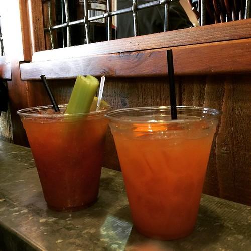 Bloody Mary and Mai Tai. #cheers.