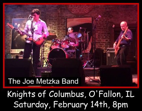 Joe Metzka Band 2-14-15