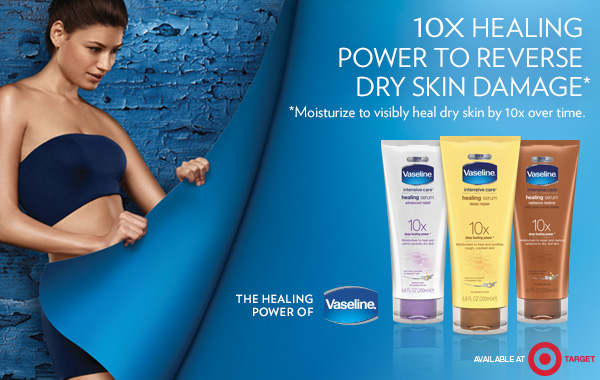 Winter Weather Skincare from Vaseline and Target #NewHealingPower