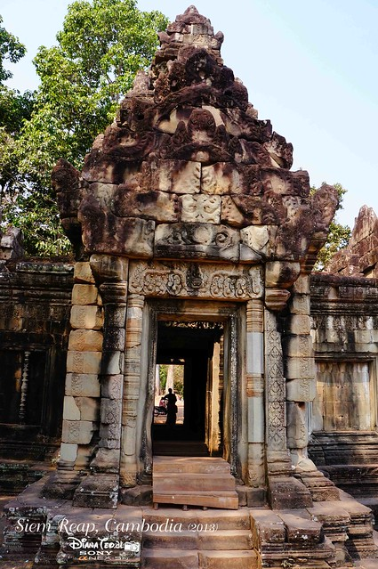 Siem Reap, Cambodia Day 2 - Temple in Angkor Thom