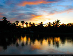 Sunset, Sukhothai, Thailand