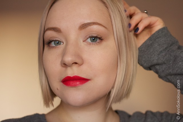 23 Lancome L'Absolu Rouge   Advanced Hydrating Lipcolor   Rouge Amour, Rose Comtesse swatches