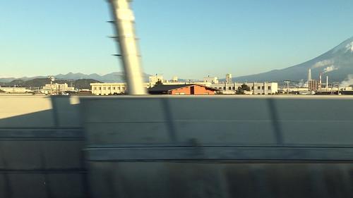新幹線から富士山 iPhone 6 Plus