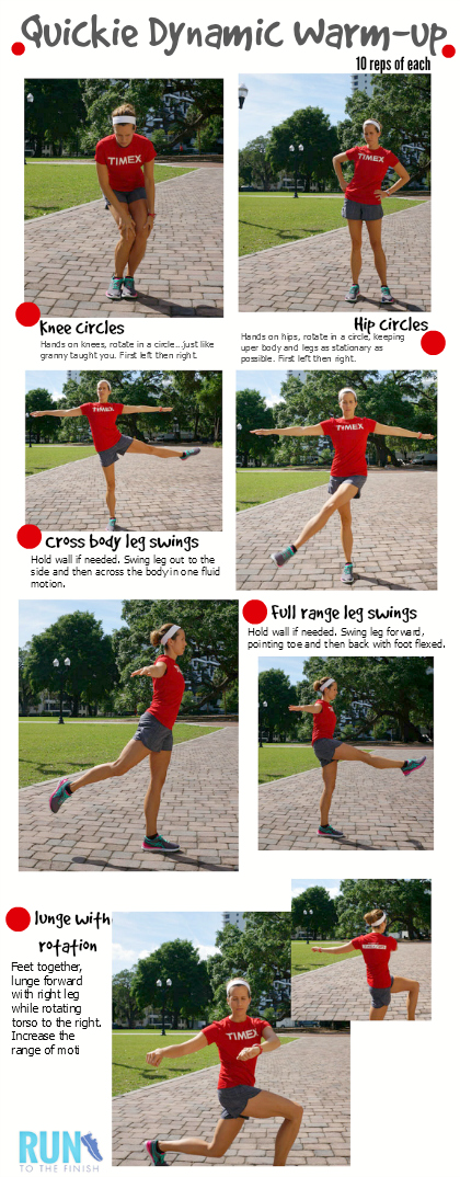 Dynamic Warm Up For Runners