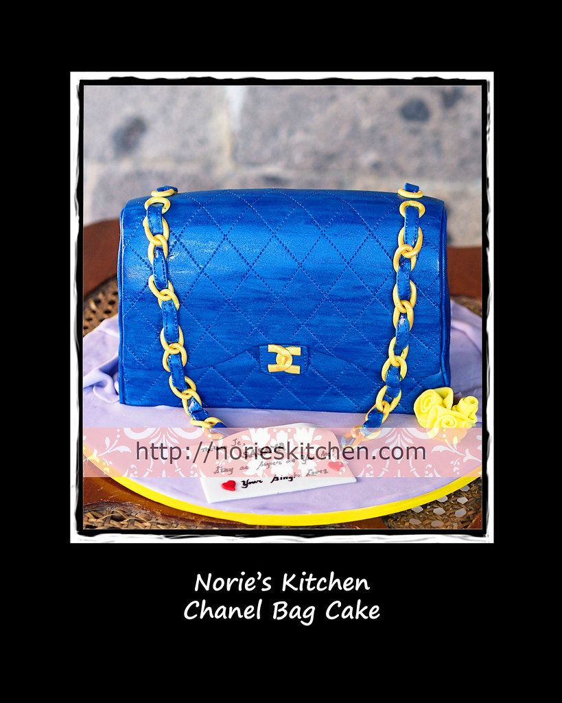 Taguig nories kitchen custom cakes nories kitchen chanel bag cake stopboris Gallery