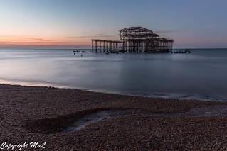 West Pier at dawn