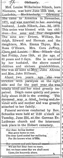 2015-2-8. Minnie Niksch obituary