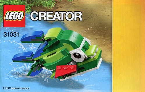 LEGO Creator 31031 Rainforest Animals ins04