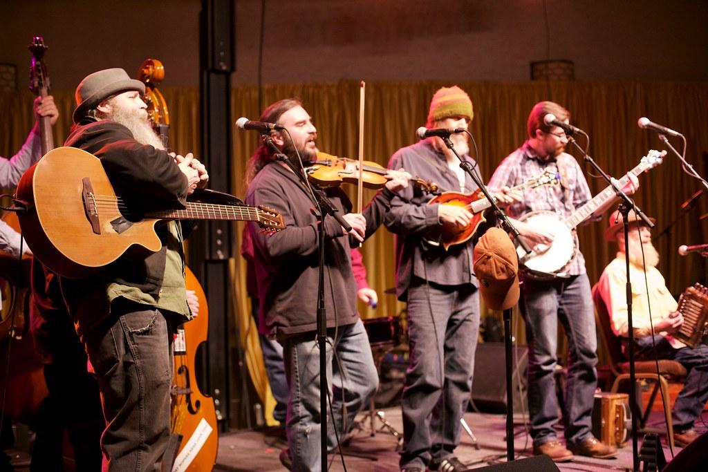 Dirty River Ramblers & Prairie Gators Band performing at the Omaha Entertainment and Arts Awards | Feb. 12, 2015