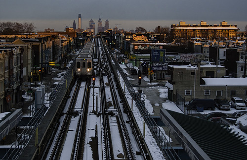 city winter sunset urban usa snow philadelphia skyline america cityscape blueline unitedstates westphiladelphia pennsylvania theel pa transit philly septa m4 westphilly muralartsprogram 215 marketfrankfordline espo haddington loveletters cityofbrotherlylove marketfrankfordel stevepowers frankfordel