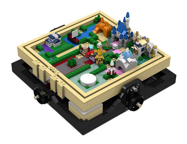 Disneyland maze 2
