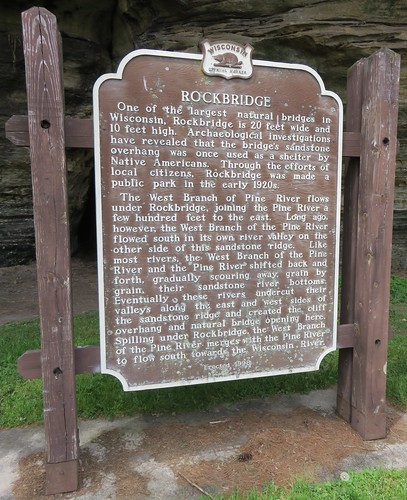 Rockbridge Marker (Rockbridge, Wisconsin)