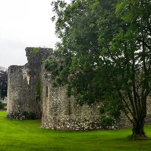 Ballymoney Castle. #ireland