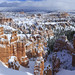 Bryce Canyon Winter Panorama by Alfred J. Lockwood Photography