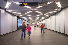 Opening of Fulton Center's Dey Street Concourse