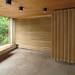 hans chr. hansen, architect: ringbo nursing home, bagsværd, copenhagen 1961-1963. chapel interior. by seier+seier
