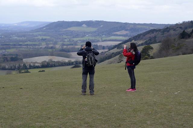 Merstham to Tattenham Corner Hiking