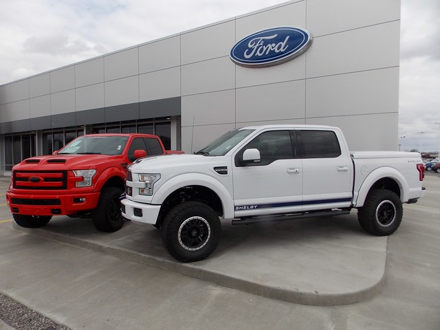 2016 Ford Shelby and Tuscany FTX F150 trucks