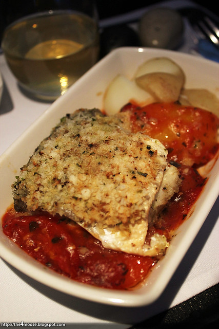 Baked Crusted Mediterranean Sea Bass